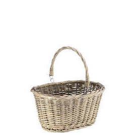 Rustic Chunky Willow Shopping Basket Reviews