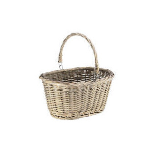 Photo of Rustic Chunky Willow Shopping Basket Accessory