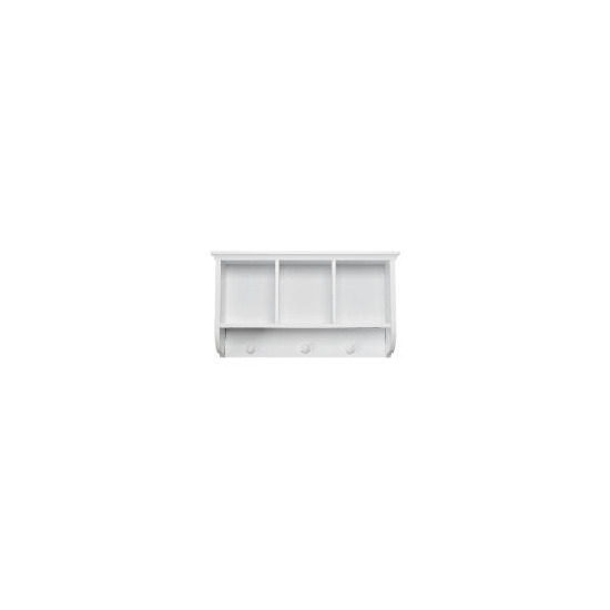 Southwold White Wood Tongue & Groove 3 Section Wall Unit