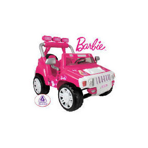 Photo of Barbie 12V Jeep Toy