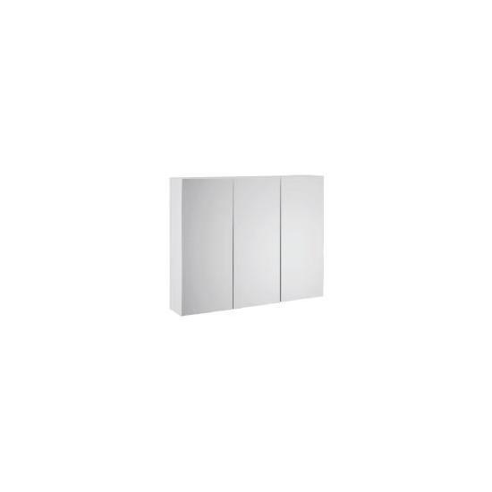 Alaska 3 Door Cabinet White