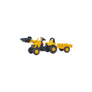 Photo of JCB Pedal Tractor With Trailer & Scoop Toy