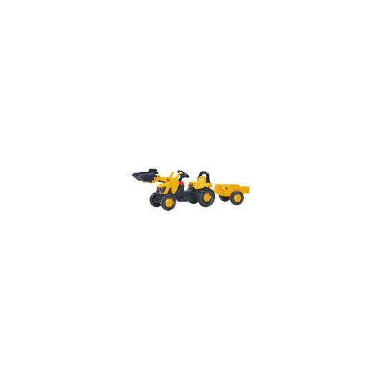 JCB Pedal Tractor with Trailer & Scoop