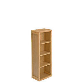 Hampshire Oak Shelving Cabinet Floor Standing Reviews