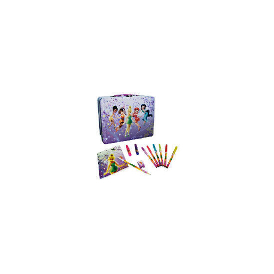 Disney Fairies Stationery Filled Tin