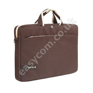 Photo of Tech Air Carry Case  - Brown and White 10 - 11.6 Inch Laptop Bag