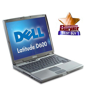 Photo of Dell D600 1GB RAM 60GB HDD Laptop