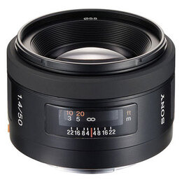 Sony 50mm f/1.4 Reviews