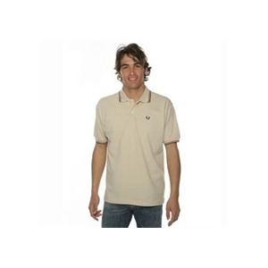Photo of Fred Perry Polo Shirt Beige T Shirts Man