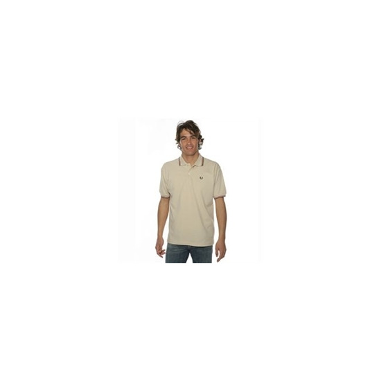 Fred Perry Polo Shirt Beige