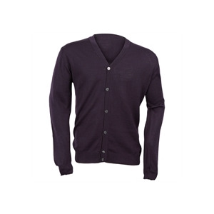 Photo of Peter Werth Cardigan - Aubergine Tops Man