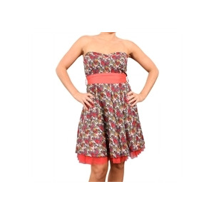 Photo of Eucalyptus Sweetheart Carmen Dress - Coral Dress