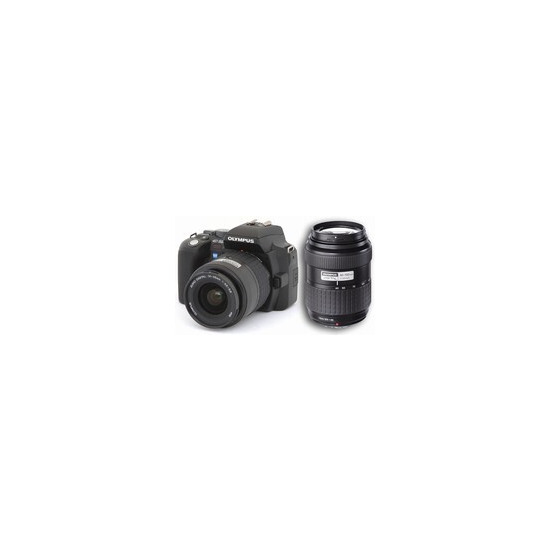 Olympus E-500 with 14-45mm and 40-150mm lenses