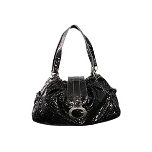 Photo of Gionni Penny Gather Top Bag Black/ Grey Handbag