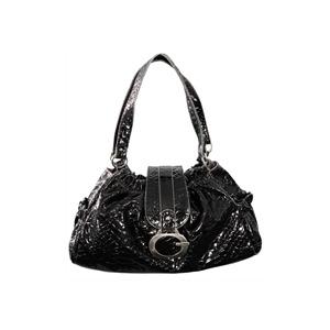 Photo of Gionni Penny Gather Top Bag Black/ Grey Handbag