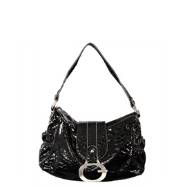 Gionni Penny Shoulder Bag Black/Grey Reviews