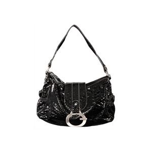 Photo of Gionni Penny Shoulder Bag Black/Grey Handbag