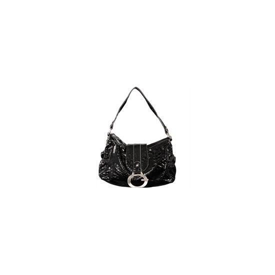 Gionni Penny Shoulder Bag Black/Grey