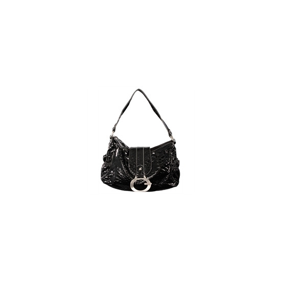 Gionni Penny Shoulder Bag Black/Grey