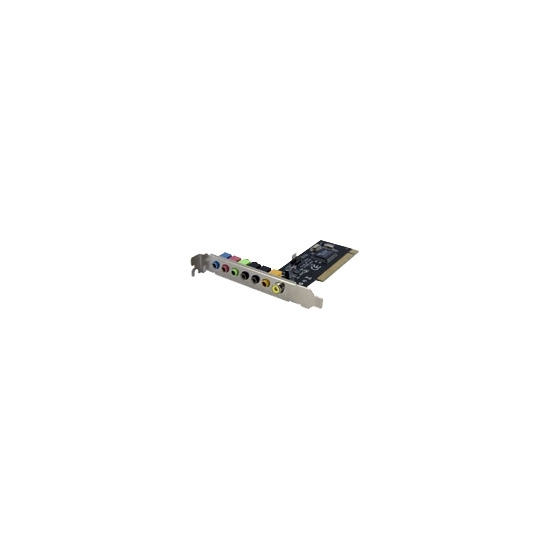 StarTech.com 7.1 Channel PCI Digital Surround Sound Adapter Card - 24 bit - Sound card - 48 kHz - 7.1 channel surround - PCI - VIA VT1723