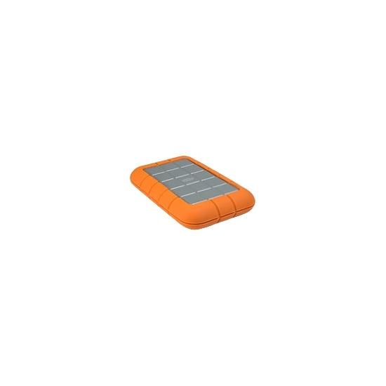 LaCie Rugged All-Terrain Hard Drive - Hard drive - 120 GB - external - FireWire / FireWire 800 / Hi-Speed USB - 5400 rpm - buffer: 8 MB