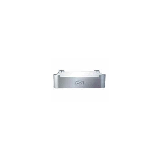 LaCie mini Hard Drive & Hub - Hard drive - 320 GB - external - FireWire / Hi-Speed USB - 7200 rpm - buffer: 8 MB