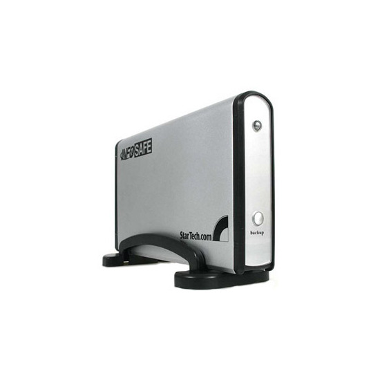 """InfoSafe Mobile 3.5"""" One Button HDD Enclosure"""