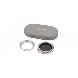 Photo of Sony VF 30CPKXS - Filter Kit - Circular Polarizer / Protection - 30 mm Photography Accessory
