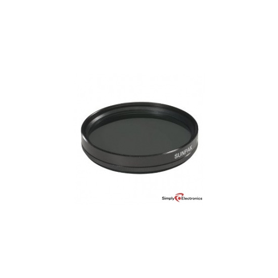 Sunpak 62mm Circular Polarizer Filter