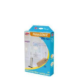 296 Panasonic Upright Range Vacuum Bags 5Pk Reviews