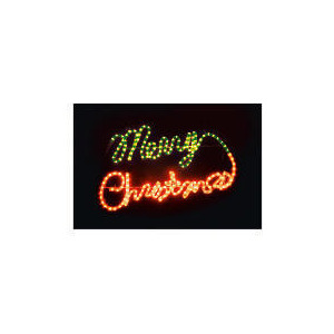 Photo of Light Up Red/ Green Merry Christmas (Direct) Christmas