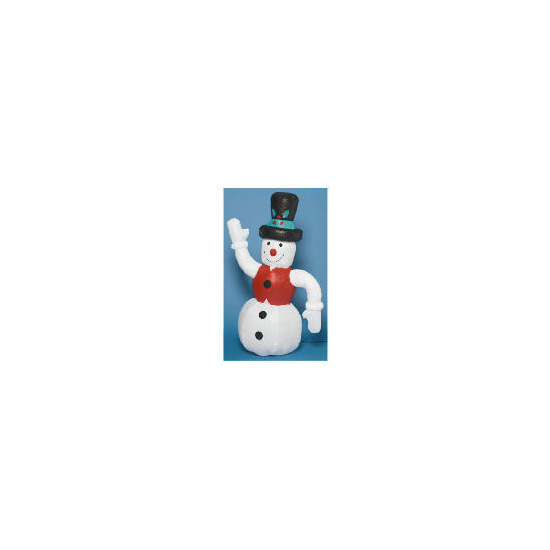 Tesco 6ft Inflatable Snowman (Outdoor)