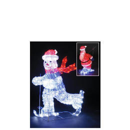 3D Illuminated Skiing Santa Reviews