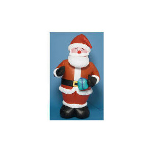 Photo of Tesco 6FT Inflatable Santa (Outdoor) Christmas