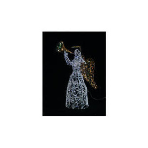 Photo of Animated Light Up Tinsel Angel (Direct) Christmas