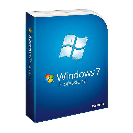Microsoft Windows 7 Professional (Full Version)