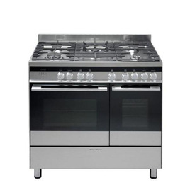 FISHER & PAYKEL OR90LDBGX2 Dual Fuel Range Cooker - Stainless Steel