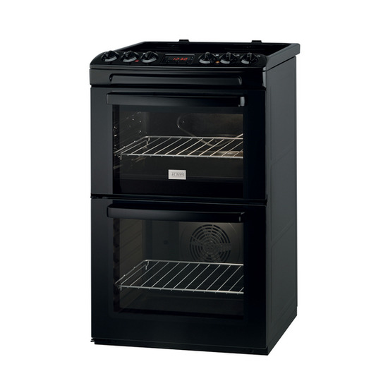 Zanussi ZCV550MNC Electric Cooker - Black