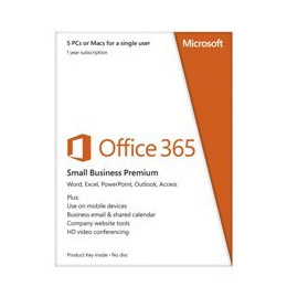 Microsoft Office 365 Small Business Premium - 1 Year Subscription for 1 User/2 PC's Reviews