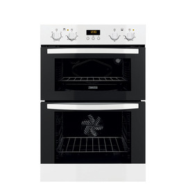 Zanussi ZOD35561WK Electric Double Oven - White Reviews