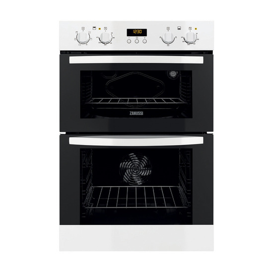 Zanussi ZOD35561WK Electric Double Oven - White