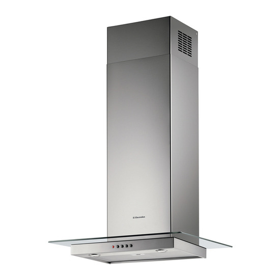 Electrolux EFC70720X Chimney Cooker Hood - Stainless Steel