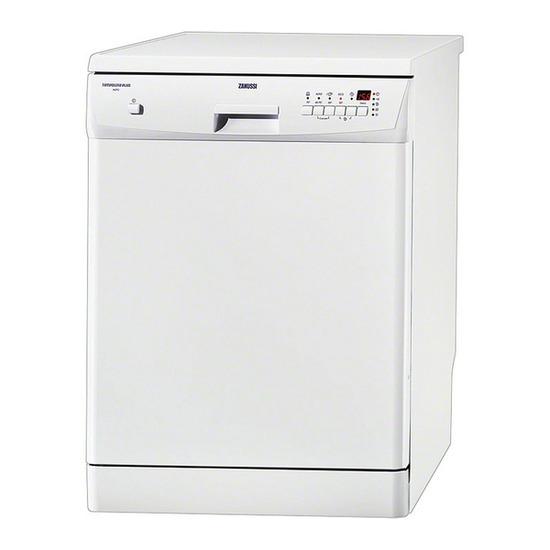 Zanussi ZDF4013 Full-size Dishwasher - White