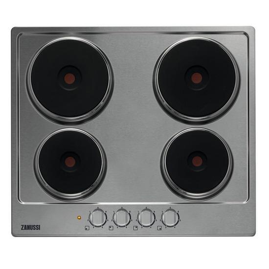 Zanussi ZEE6940FXA Electric Hob - Stainless Steel
