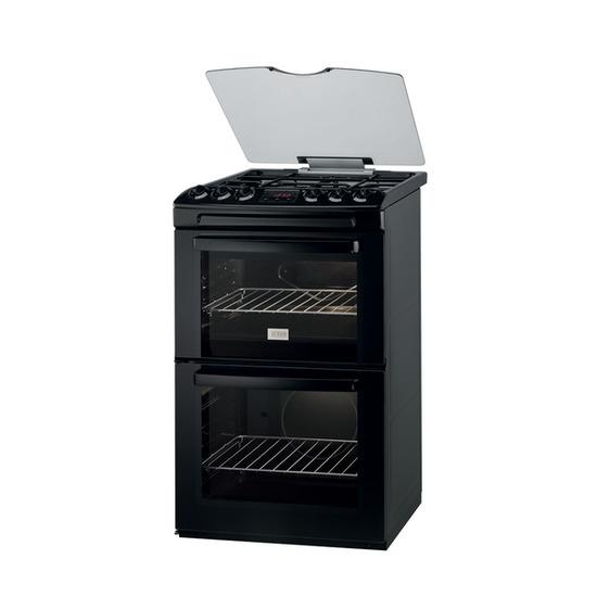 Zanussi ZCG551GNC Gas Cooker - Black