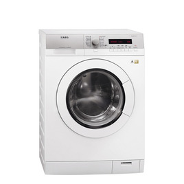 AEG L77685WD Washer Dryer - White