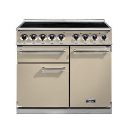 Falcon 100110 - 1000 Deluxe Electric Range Cooker With Induction Hob -Cream F1000DXEICR/C