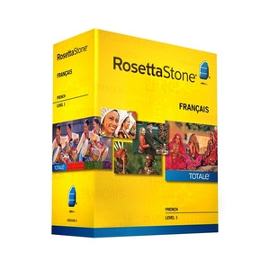 Photo of Rosetta Stone TOTALe: French Version 4 Level 1 Software