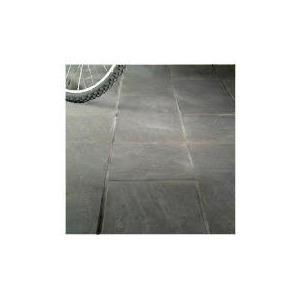 Photo of Oxford Cornish Slate 450X450X38MM Paving Slabs 50PC Garden Ornament