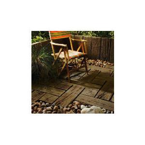 Photo of Sleeper Paving Timber Brown 900X225X50MM 40PC Garden Equipment